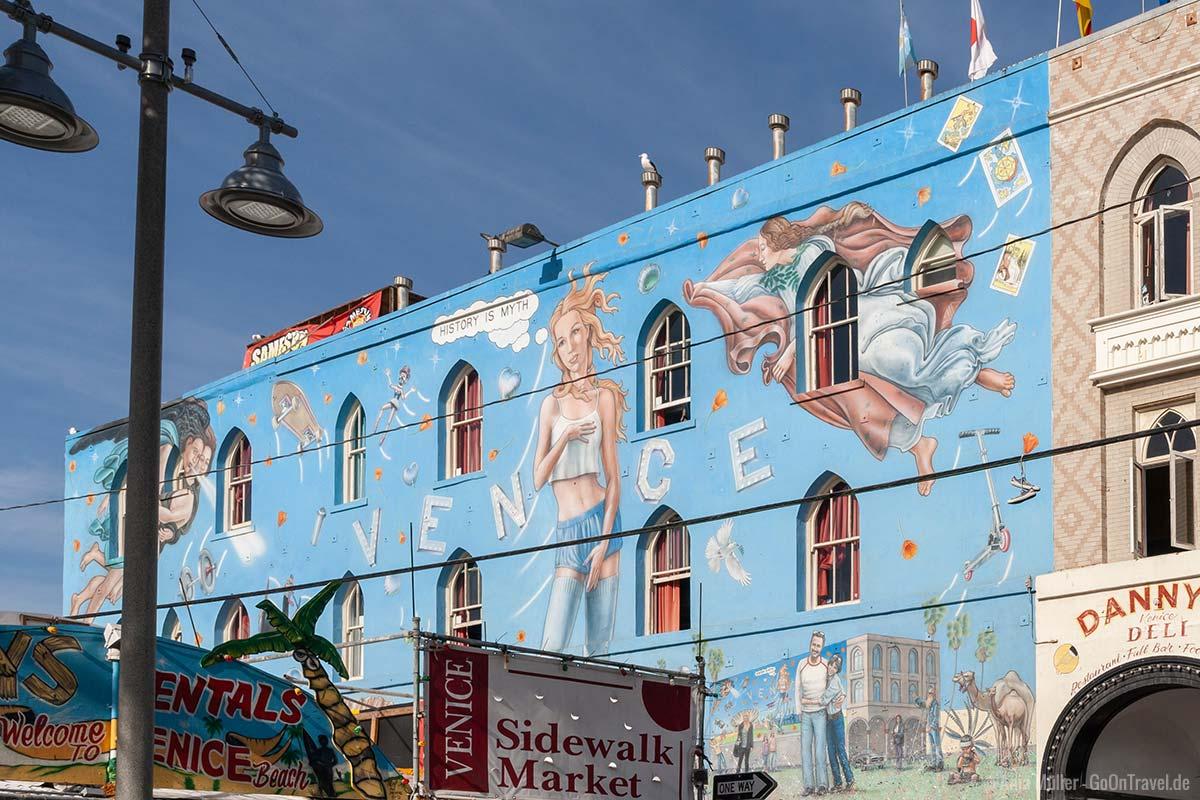 Graffiti am Venice Beach