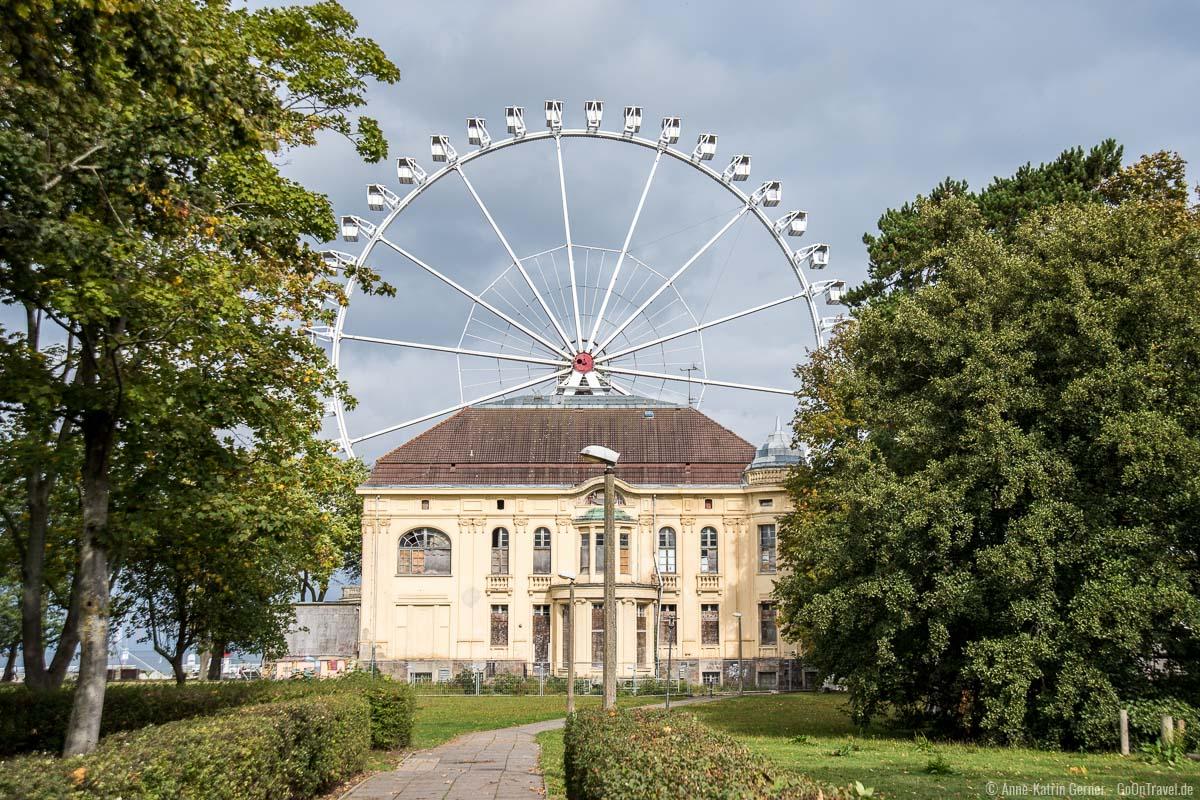 Villa Baltic und Riesenrad