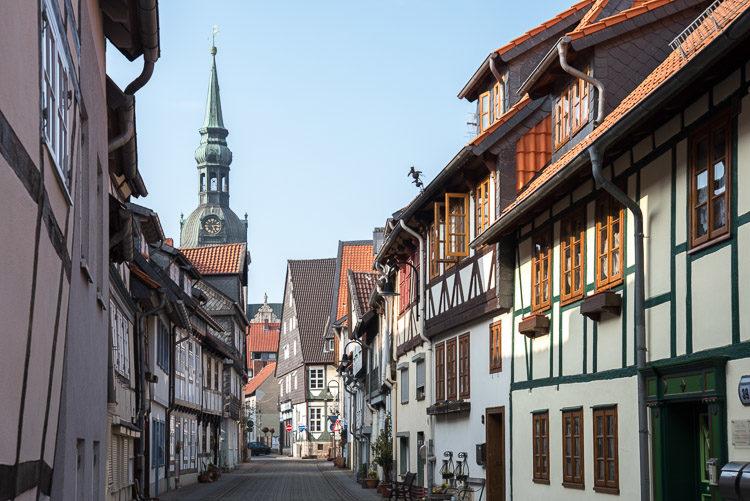 In den Gassen von Wolfenbüttel
