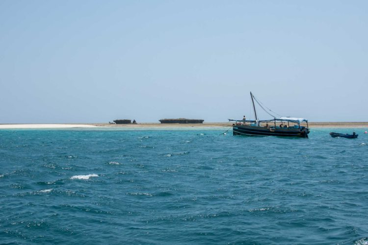 Wasini Island Kenia Dhow schnorcheln