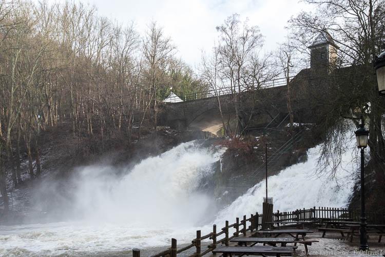 Wasserfälle von Coo