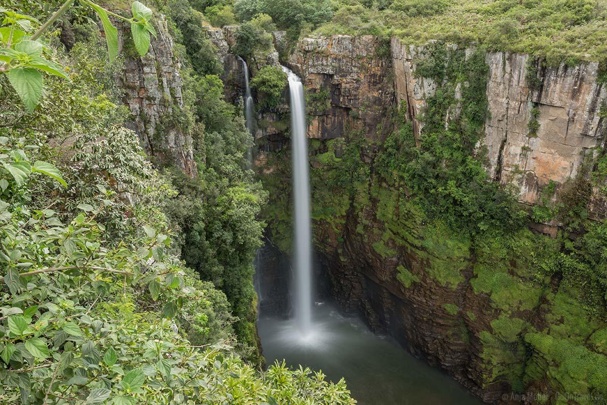 Wasserfall Langzeitbelichtung in Südafrika