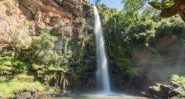 Wasserfälle entlang der Panorama Route in Südafrika