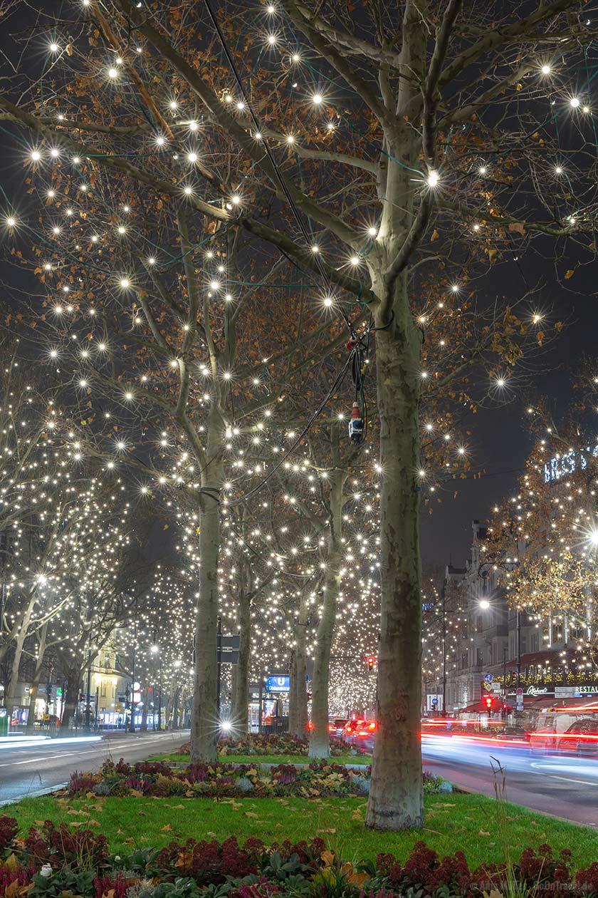 Weihnachtsbeleuchtung am Kudamm