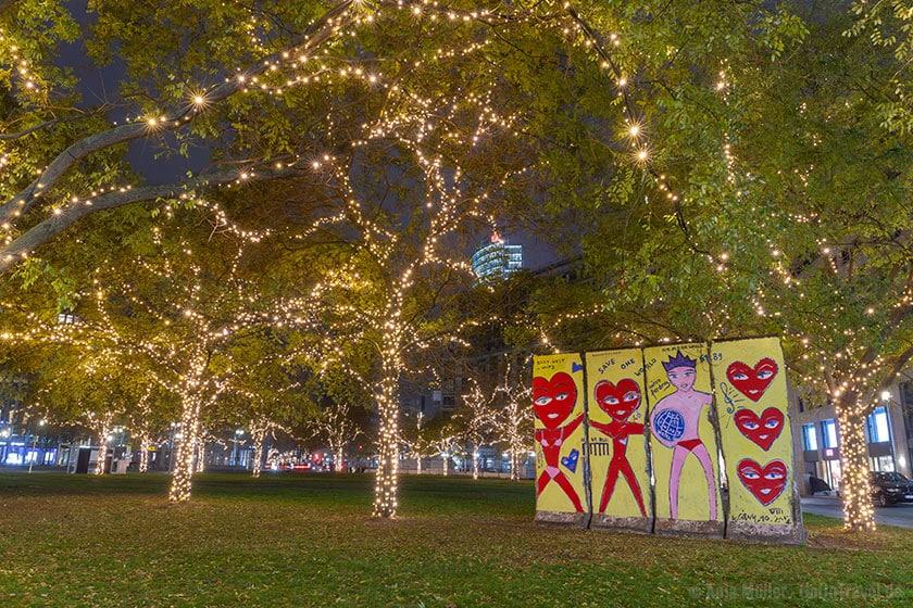 Weihnachtsbeleuchtung am Potsdamer Platz
