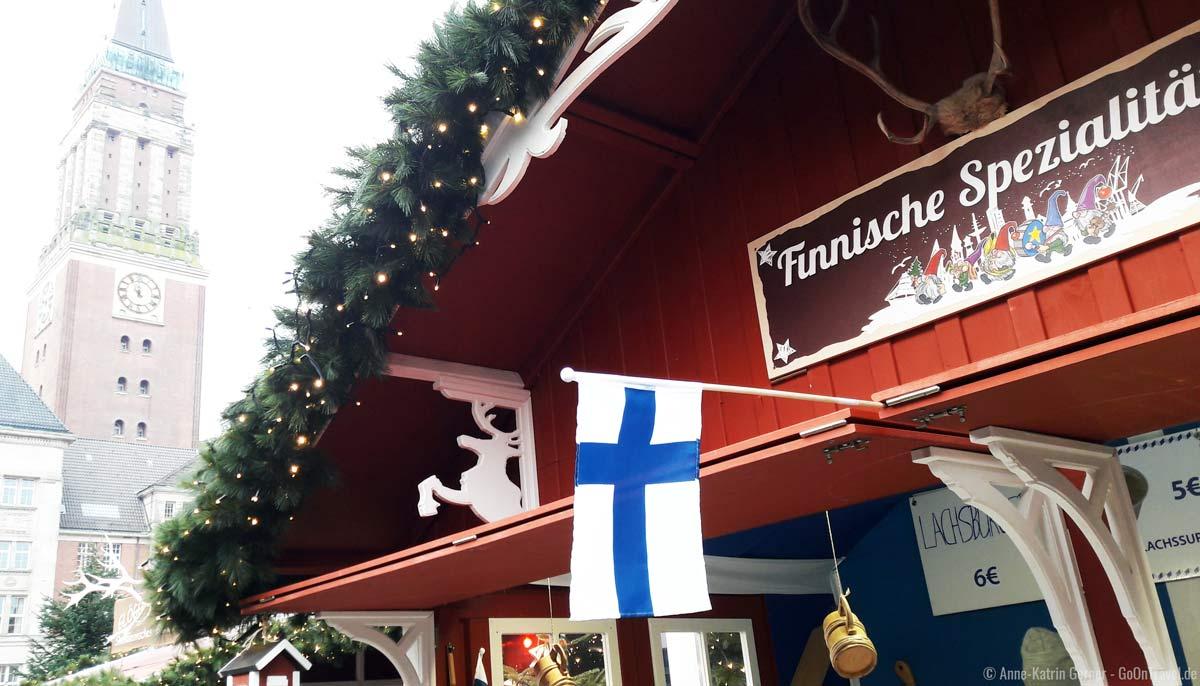 Kieler Weihnachtsmarkt am Rathaus