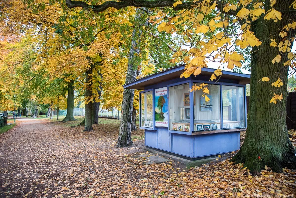 Seepromenade in Altenhof im Herbst