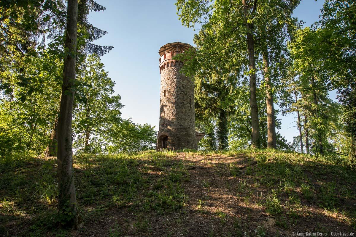 Der Askanierturm am Werbellinsee