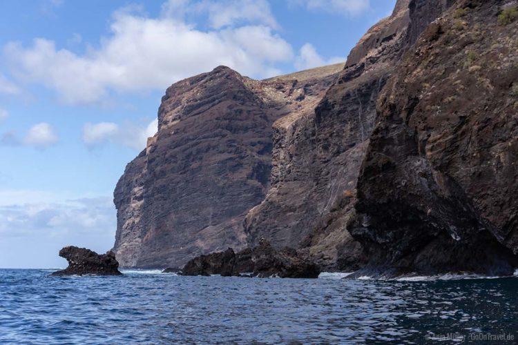 Die Steilküste vor Los Gigantes