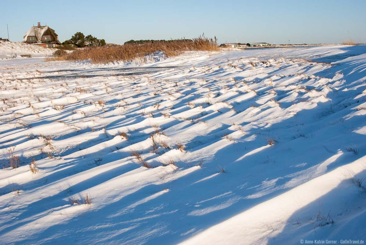 Silvester auf Sylt bei Schnee ist für viele Urlauber ein großer Wunsch.
