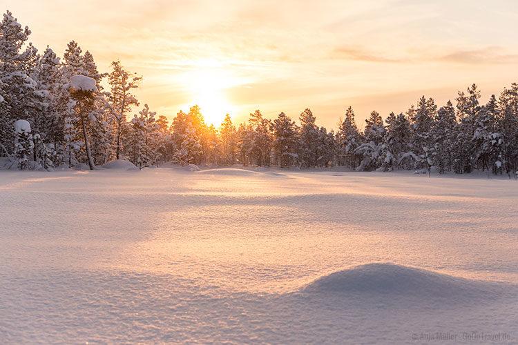 Die schönste Seite von Schwedisch Lappland.