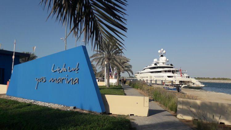 Eingang Yas Marina