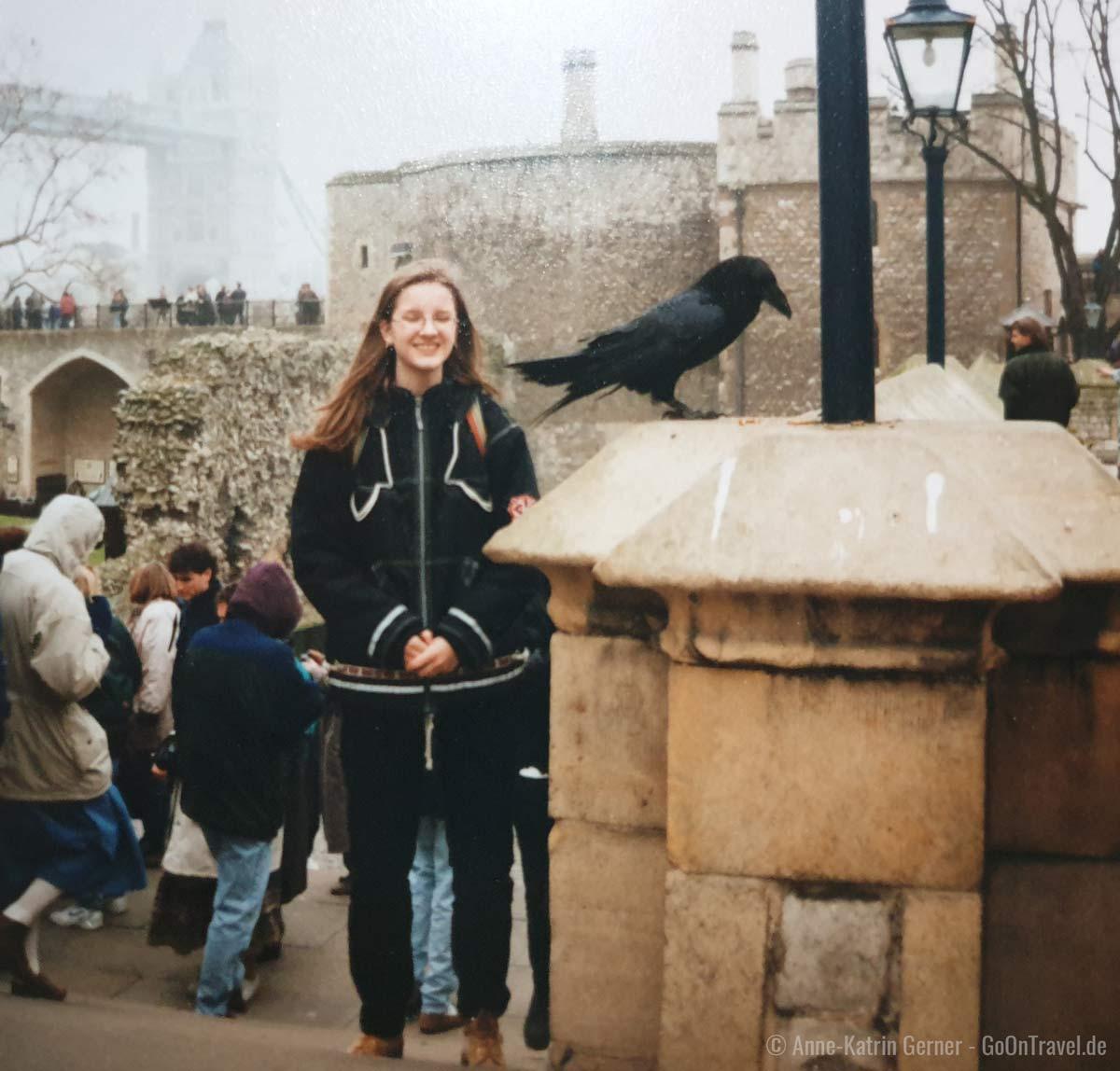 Der Tower von London im März 1996
