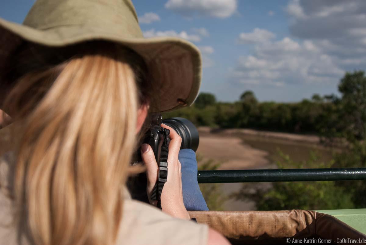 Mein Safarihut gehört auf meine Safari Packliste