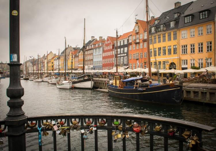 Kopenhagen ist auch bei Regen schön