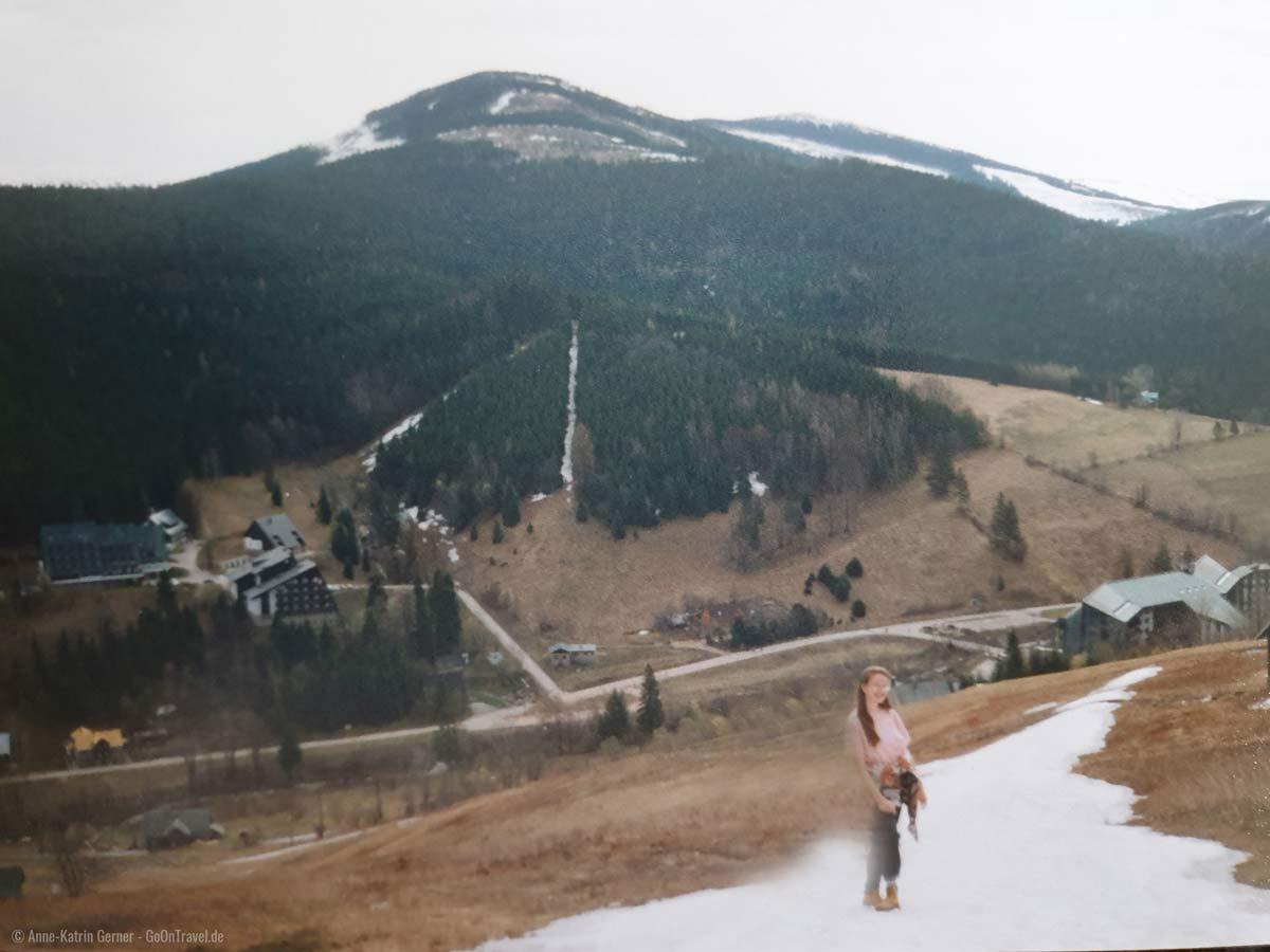 Harrachov im Frühling 1995