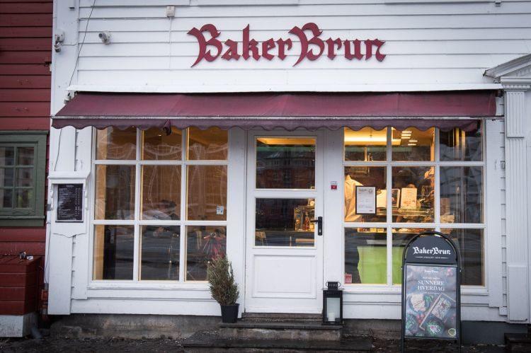 Baker Brun in Bergen´s Stadtteil Bryggen