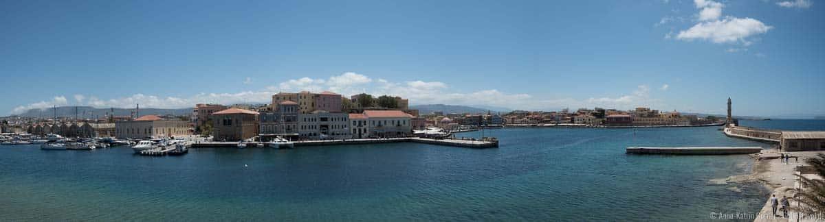 Panorama von Chania / Kreta