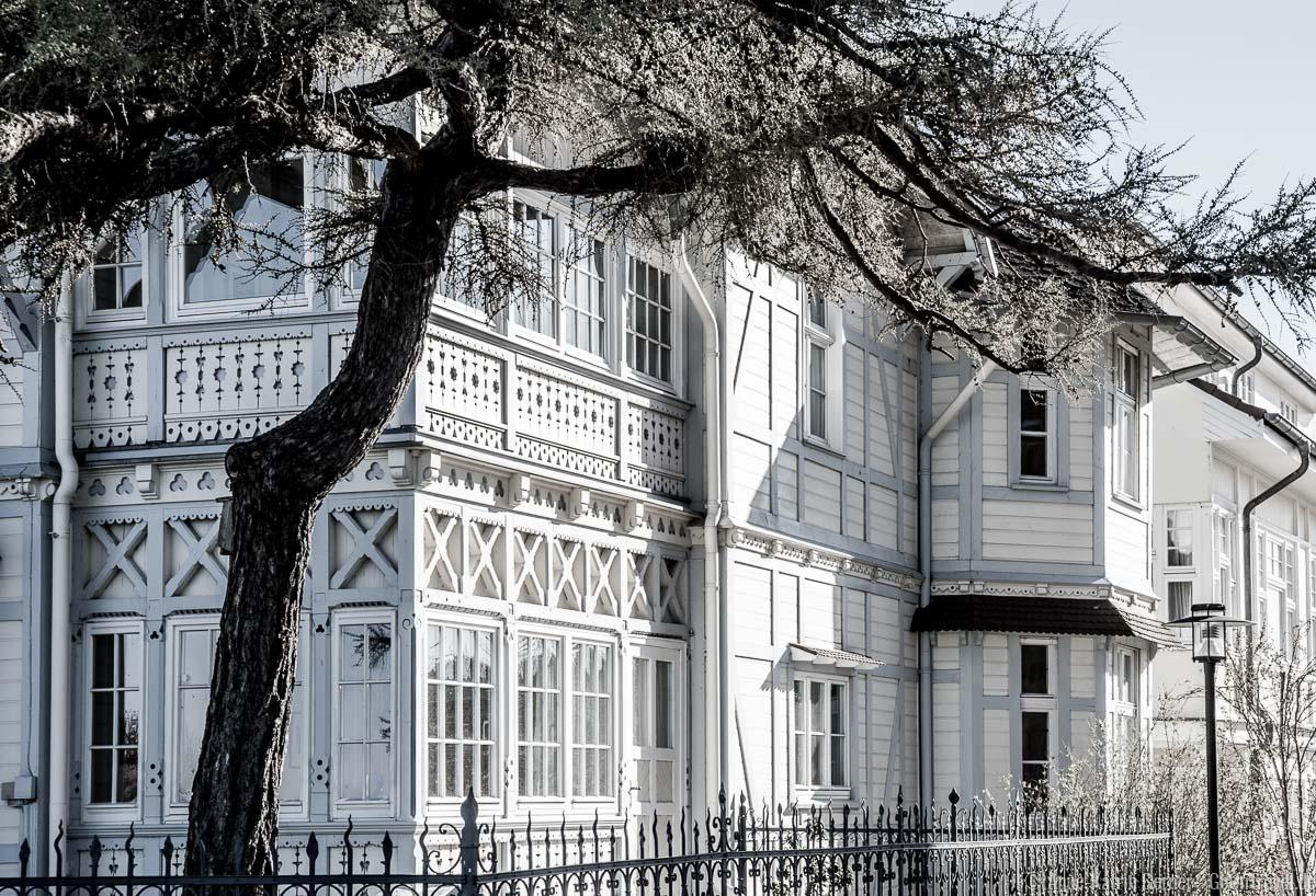 Bäderarchitektur in Bansin / Usedom